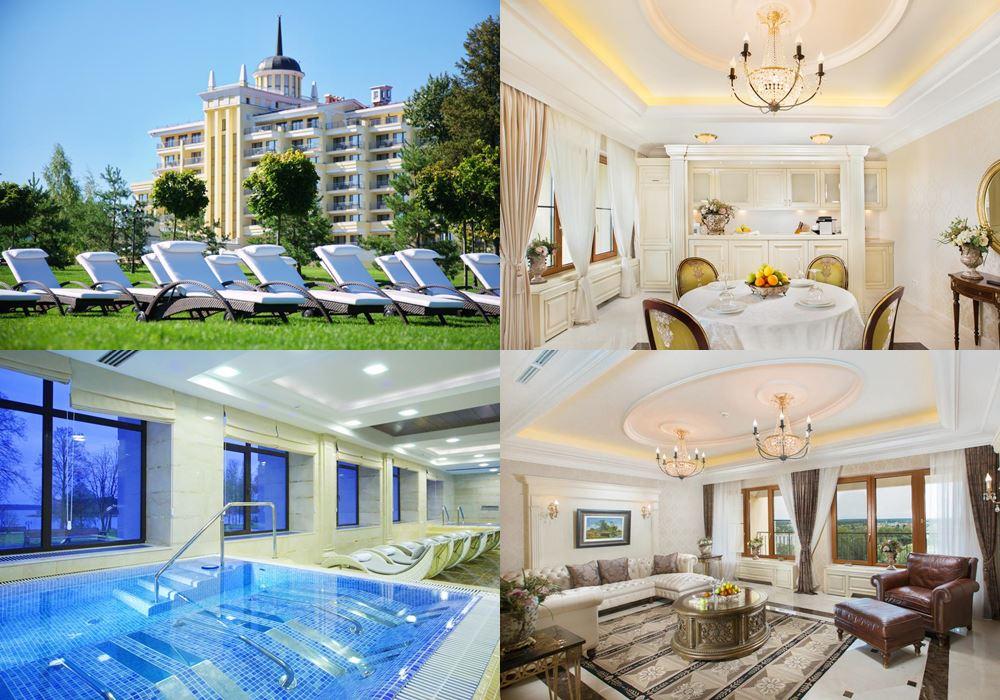 Лучшие спа-отели Подмосковья: M'Istra'L Hotel & SPA (5 звёзд), истринское водохранилище