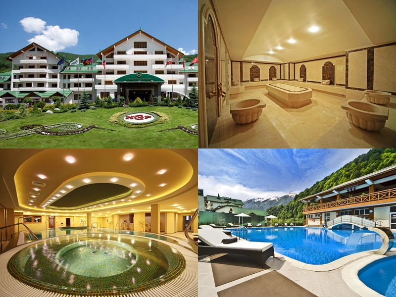 Лучшие спа-отели Сочи: «Гранд Отель Поляна» (5 звёзд)