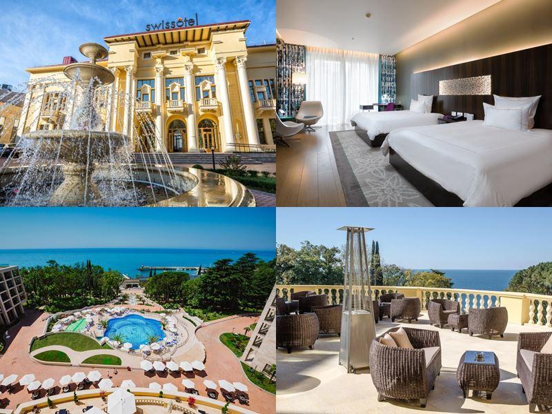 Лучшие спа-отели Сочи: «Swissоtel Resort Сочи Камелия» (5 звёзд)