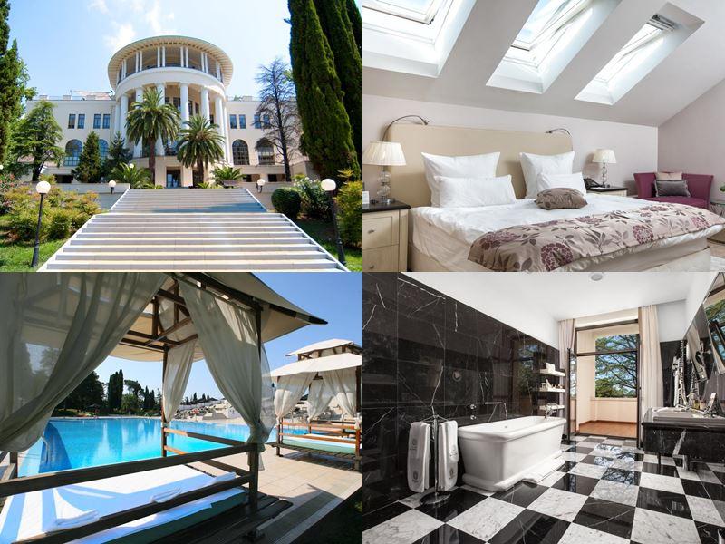 Лучшие спа-отели Сочи: «Rodina Grand Hotel & SPA» (5 звёзд)