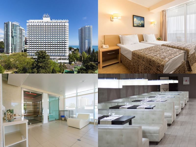 Лучшие спа-отели Сочи: «Sea Galaxy Hotel Congress & Spa» (4 звезды)