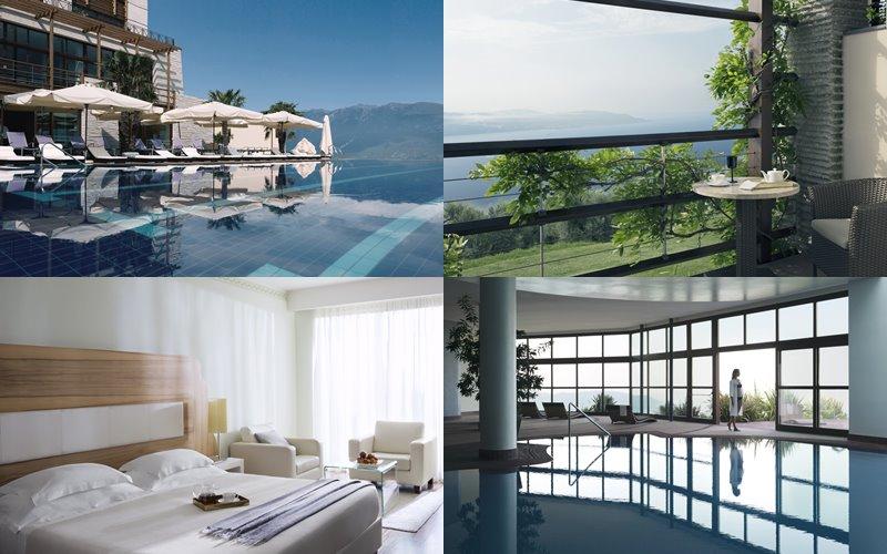 Осенний отдых на озере Гарда с Lefay Resort & SPA  - номер отеля с видом на озеро и бассейны