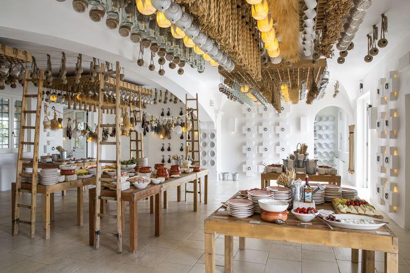 Отель Borgo Egnazia - интерьер ресторана La Frasca