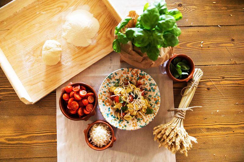 Отель Borgo Egnazia - мастер-класс по блюдам с оливками