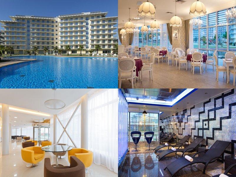 Отели Сочи 3 звезды: официальные сайты - «Сочи Парк Отель»