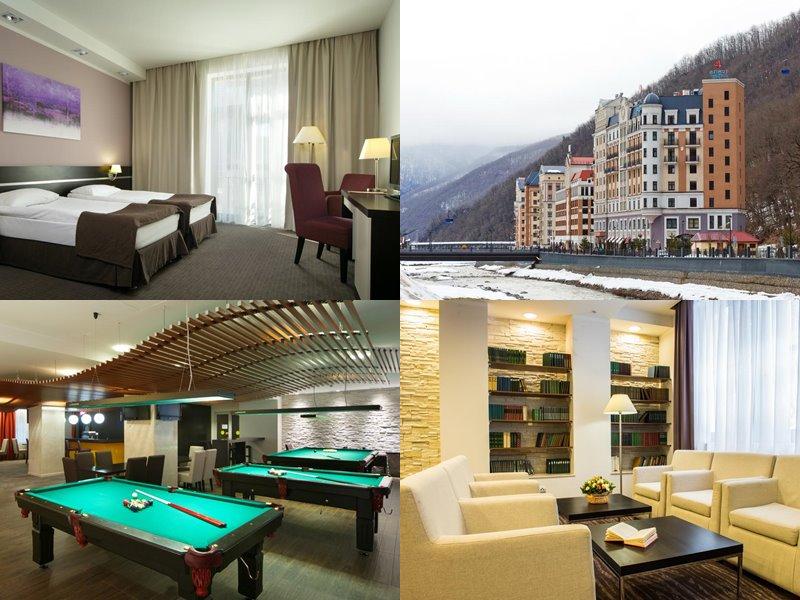 Отели Сочи 3 звезды: официальные сайты - «Азимут отель Freestyle Роза Хутор»