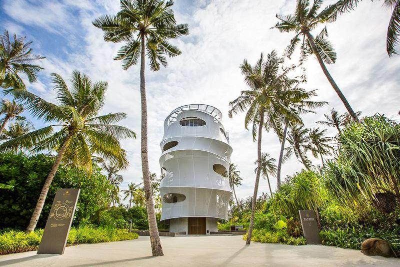 Рестораны Velaa Private Island Maldives: футуристичная башня Tavaru