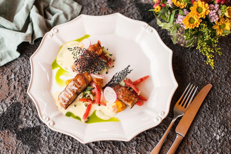 Гастрономический фестиваль Set-o-Mania в ресторане «Матрёшка» - «Трио рыб безмолвных»