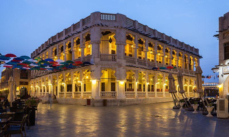 Восточный базар Сук-Вакиф в Дохе, Катар