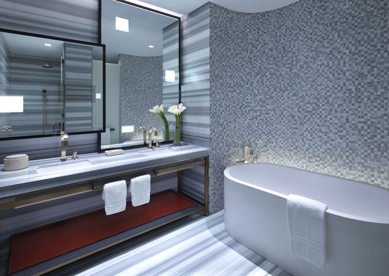 Four Seasons Hotel Kuwait: ванная комната номера