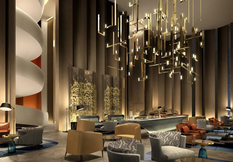 Four Seasons Hotel Kuwait: лобби отеля