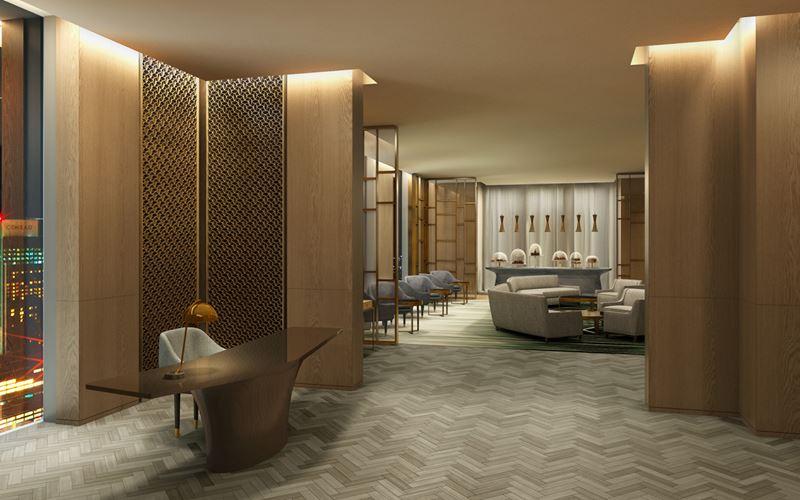 Four Seasons Hotel Kuwait: золотой интерьер