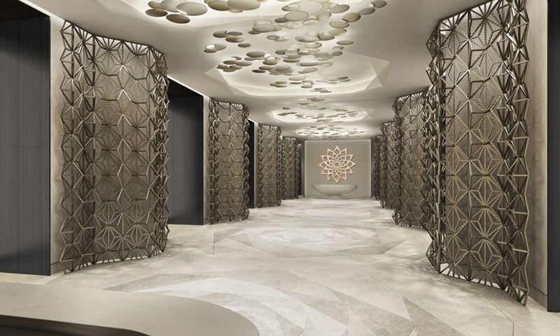 Four Seasons Hotel Kuwait: дизайн интерьера