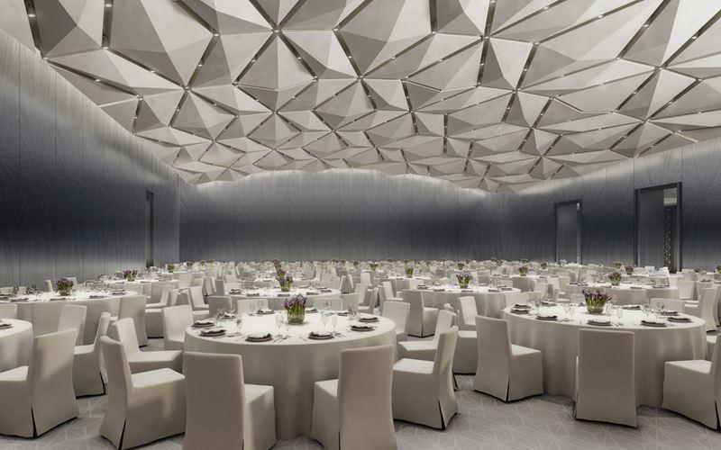 Four Seasons Hotel Kuwait: банкетный зал для свадеб