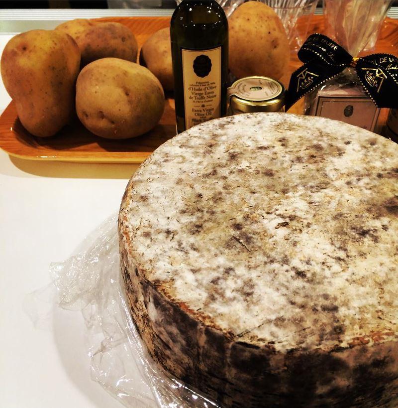 Сорта французского сыра - Том де Савуа, полутвёрдый из Савойи