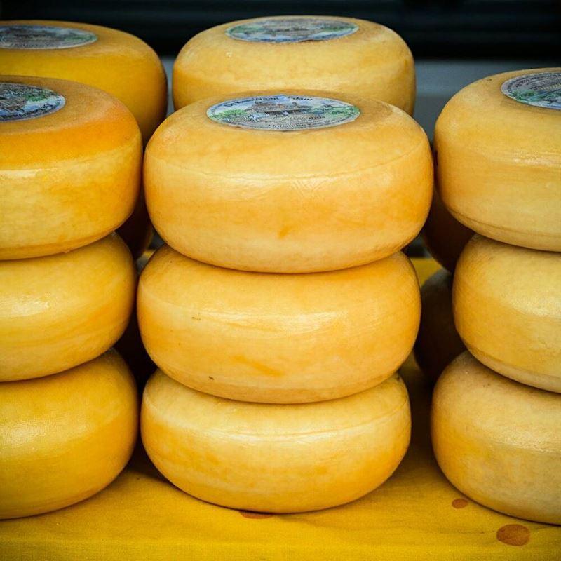 Сорта голландского сыра - Эдам - полутвердый, желтый, сладкий