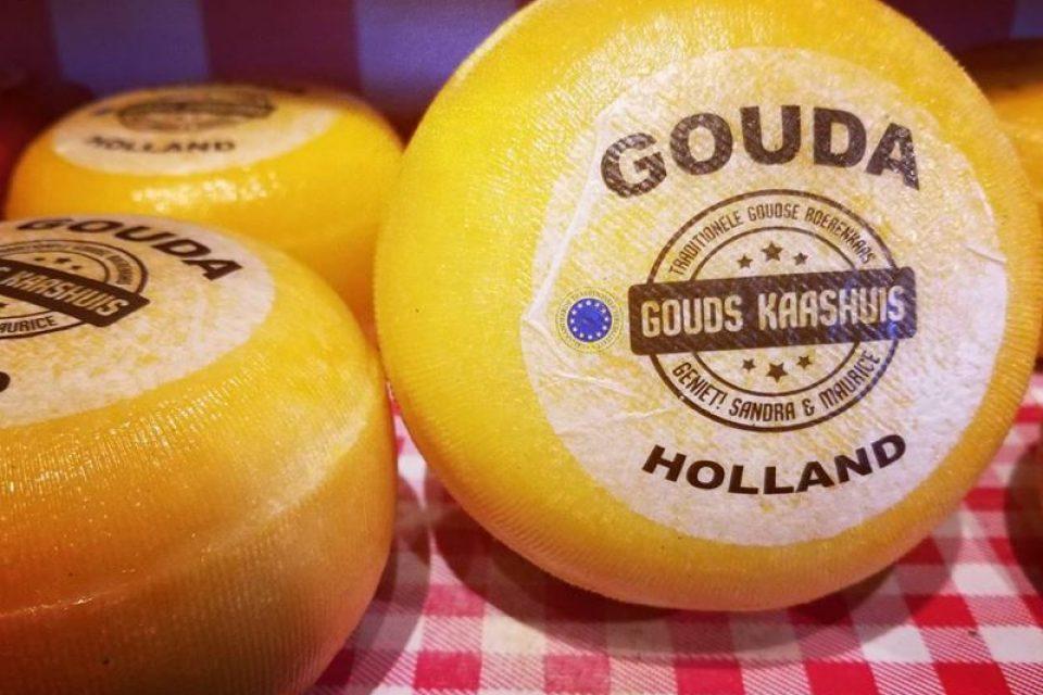 12 сортов голландского сыра