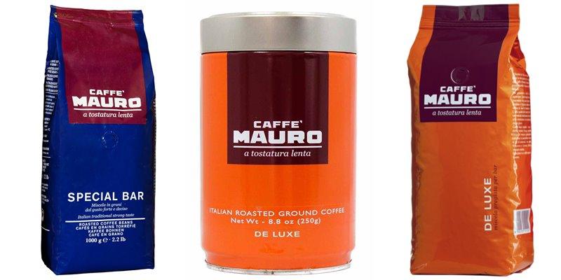 Лучшие марки итальянского кофе - Mauro - элитный в зернах премием класс