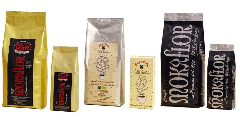 Лучшие марки итальянского кофе - Mokaflor - элитный подарочный в зернах