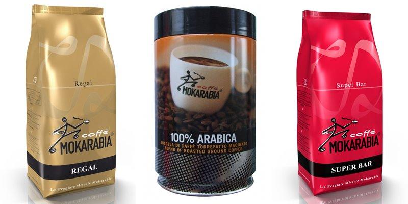 Лучшие марки итальянского кофе - Mokarabia - 100% арабика