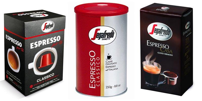 Лучшие марки итальянского кофе - Segafredo Zanetti Espresso - капсулы и молотый эспрессо