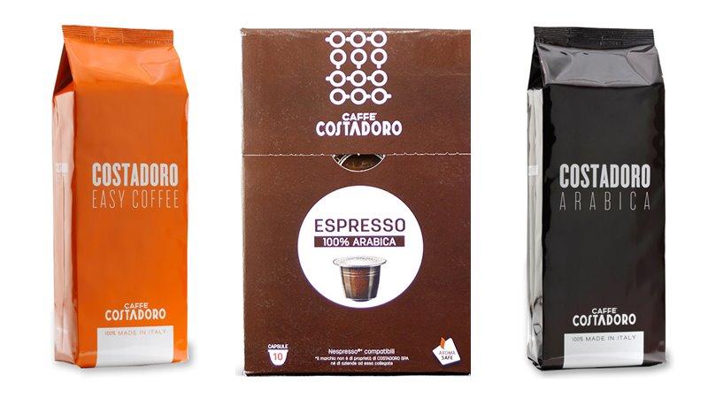 Лучшие марки итальянского кофе - Costadoro - арабика и капсулы