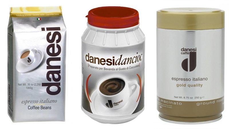 Лучшие марки итальянского кофе - Danesi - зёрна и молотый для эспрессо