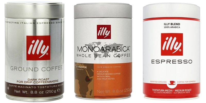 Лучшие марки итальянского кофе - Illy - молотый и зерновой премиум-класса