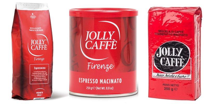 Лучшие марки итальянского кофе - Jolly - эспрессо макинато