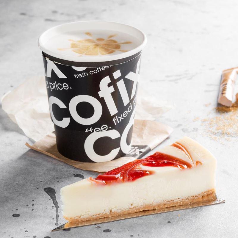 Кофейни Москвы: «Cofix» - флэт-уайт с латте-артом и пирожным