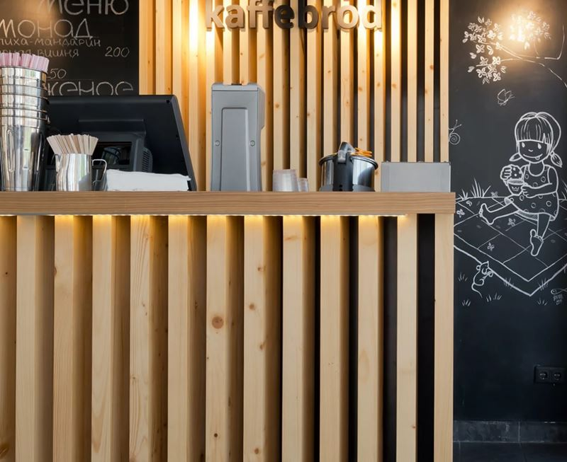 Кофейни Москвы: «Kaffebröd» - стойка бариста