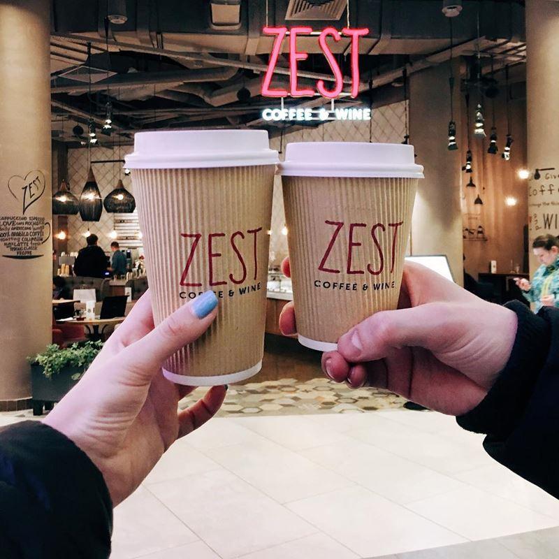 Кофейни Москвы: «Zest - coffee&wine» - кофе и вино