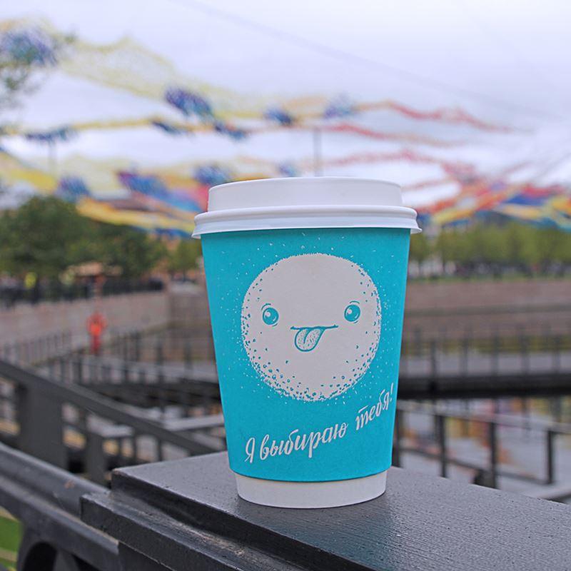 Кофейни Санкт-Петербурга: «Даблби» - синий стаканчик в Новой Голландии