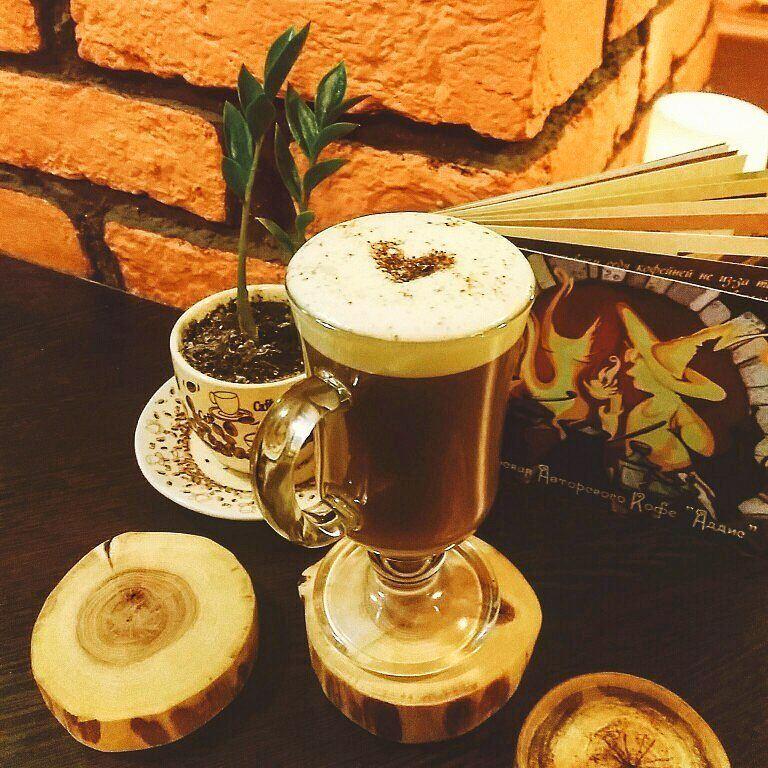Кофейни Санкт-Петербурга: «Аддис» - кофе в высоком стакане