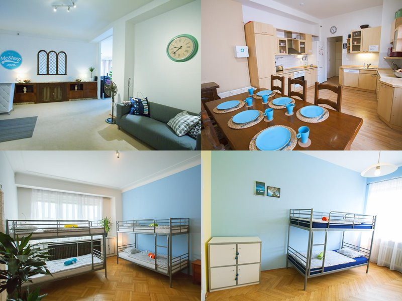 Лучшие хостелы Праги - McSleep - уютный интерьер в зефирно-леденцовых оттенках