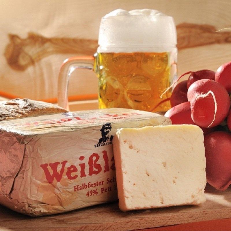 Сорта немецкого сыра - Вайслаккер (Weisslacker) - полумягкий светлый к пиву