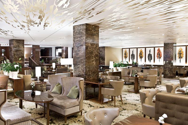The Ritz-Carlton Vienna - лаундж-пространство для приятного общения