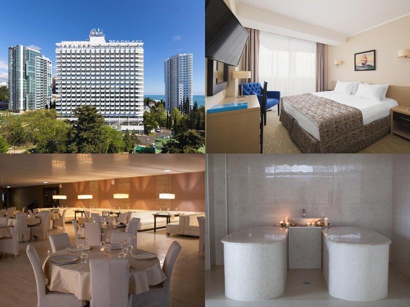 Отели Сочи 4 звезды: официальные сайты - «Sea Galaxy Hotel Congress & SPA»