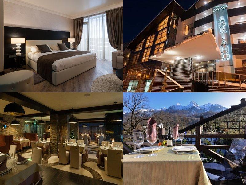 Отели Сочи 4 звезды: официальные сайты - «Villa Adriano»