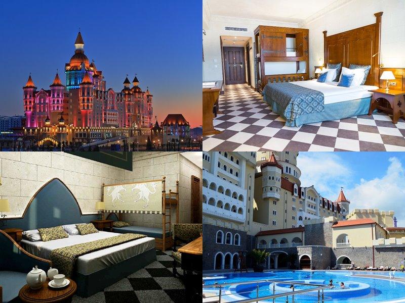 Отели Сочи 4 звезды: официальные сайты - Гостиничный комплекс «Богатырь»