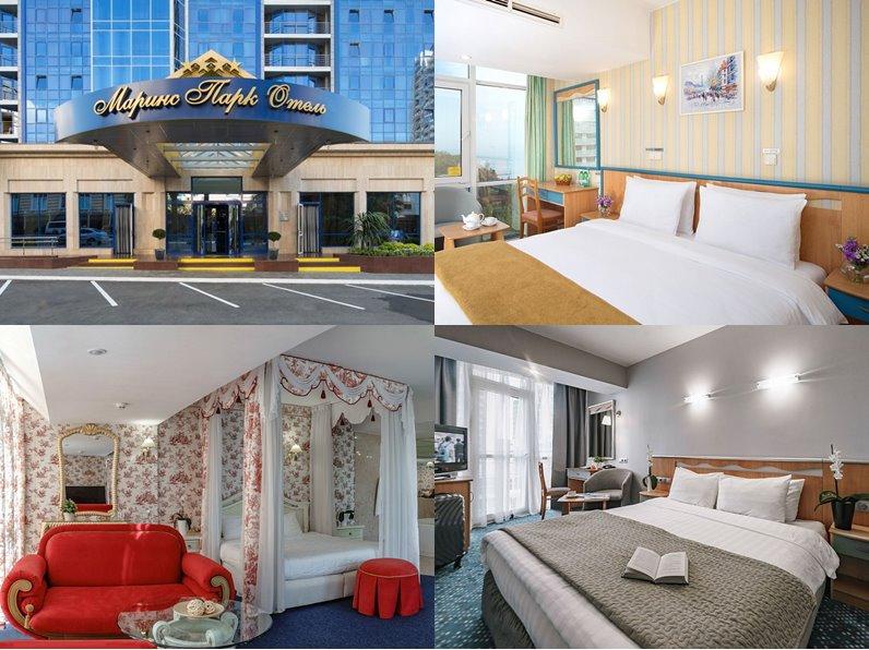 Отели Сочи 4 звезды: официальные сайты - «Маринс Парк Отель»