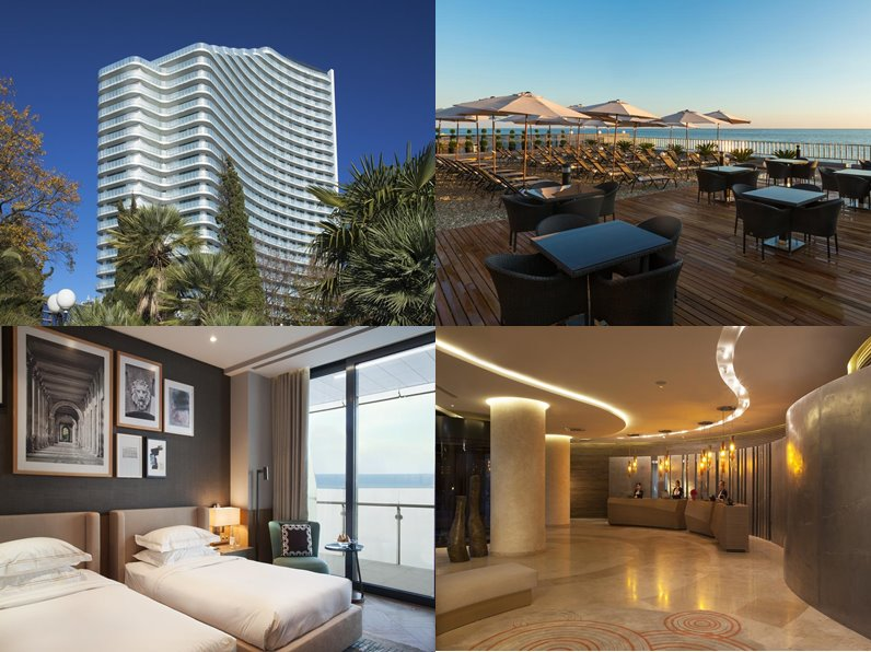 Отели Сочи (5 звёзд): официальные сайты - «Hyatt Regency Sochi»