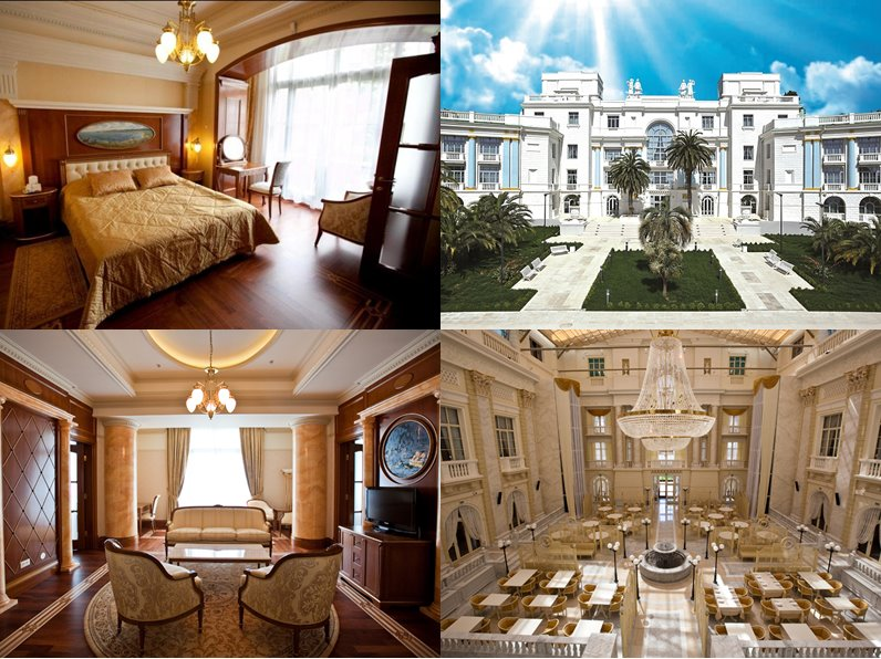 Отели Сочи (5 звёзд): официальные сайты - Объединённый санаторий «Русь»