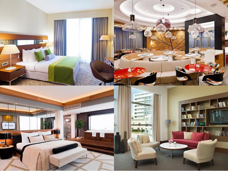 Отели Сочи (5 звёзд): официальные сайты - «Radisson Blu Resort & Congress Centre»