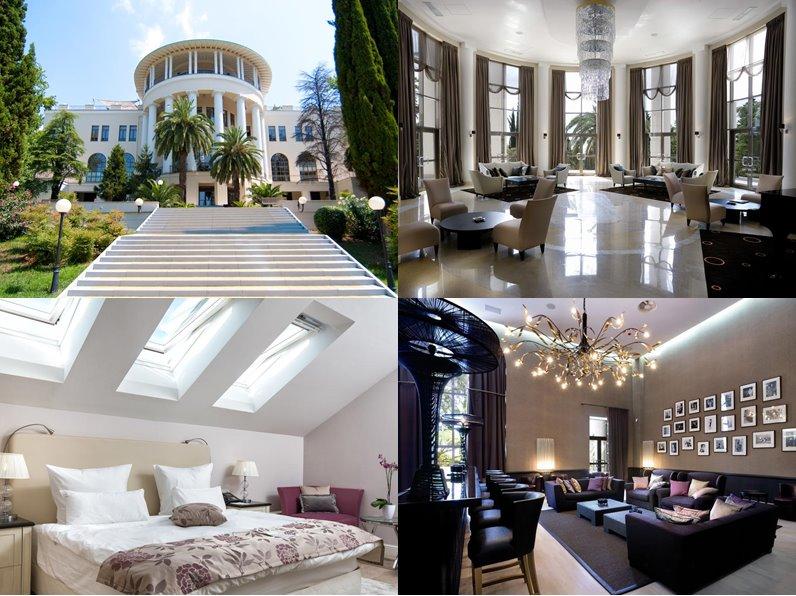 Отели Сочи (5 звёзд): официальные сайты - «Rodina Grand Hotel & SPA»