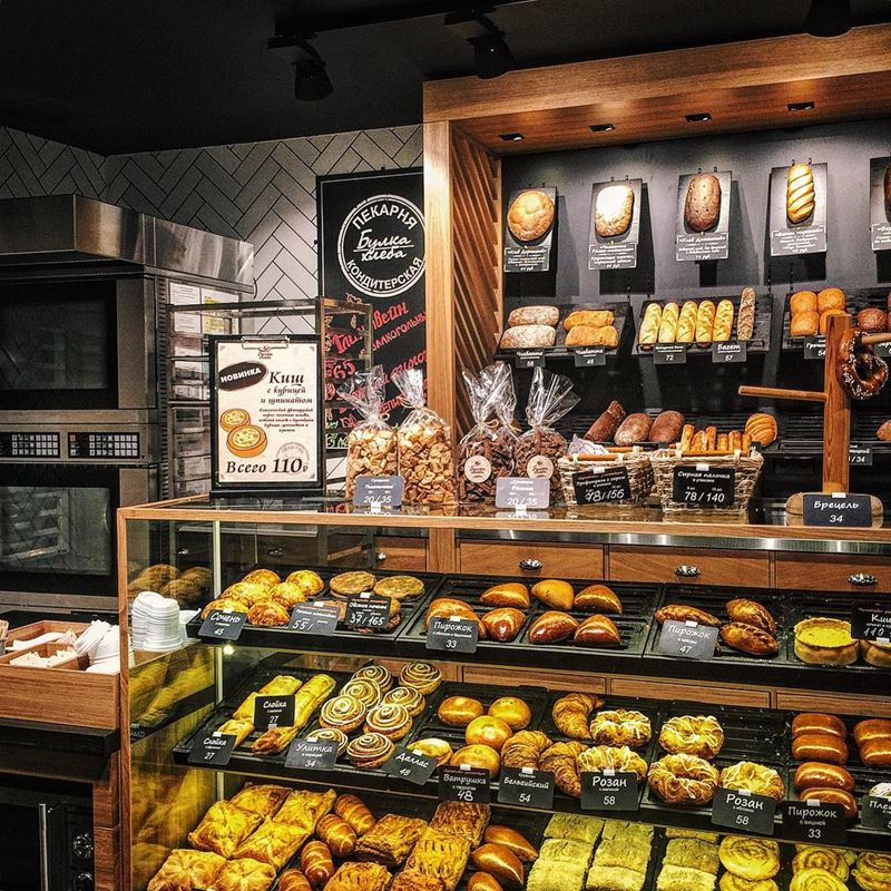 Пекарни Москвы: «Булка Хлеба»