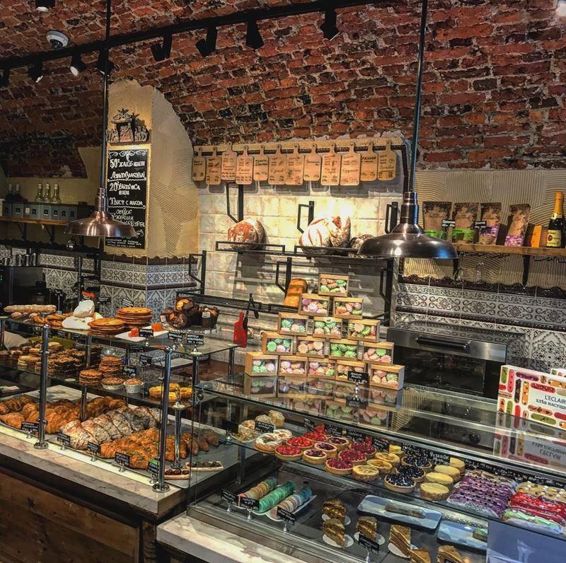 Пекарни Санкт-Петербурга: «Хлеб Насущный»