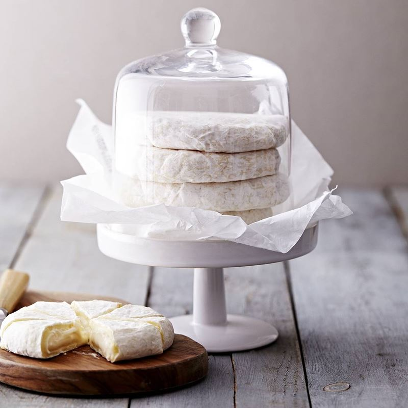 Сорта швейцарского сыра - Том Водуаз - мягкий круглый диск с белой плесневой корочкой