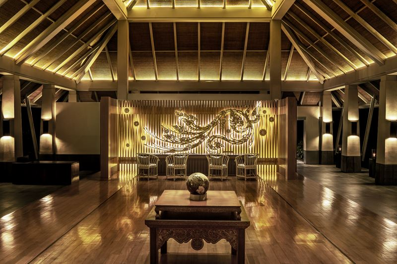 Amatara Wellness Resort (Пхукет) - лобби отеля в Таиланде