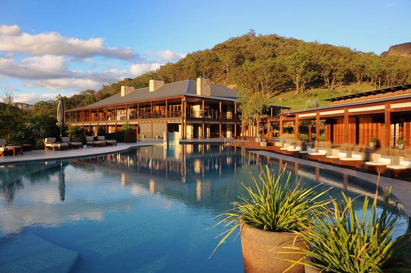 Курорт Emirates One&Only Wolgan Valley в Австралии - открытый бассейн